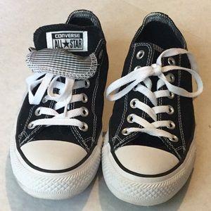 EEUC Black Converse All Stars size 8.5-9